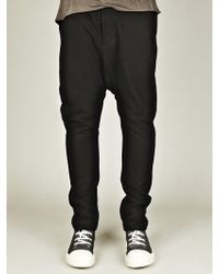 Rick Owens Mens Long Drawstring Trousers - Lyst