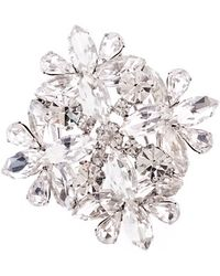 J.Crew Jeweled Brooch white - Lyst