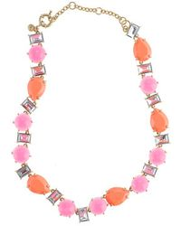 J.Crew Color Crush Necklace - Lyst