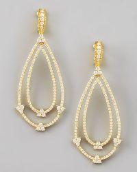 Judith Ripka - Gothic Estate Earrings - Lyst