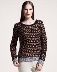 Rag & Bone Lisbeth Striped Sweater - Lyst