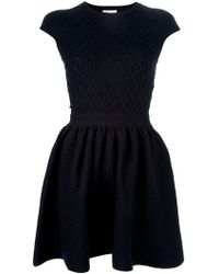 RED Valentino Aline Dress blue - Lyst
