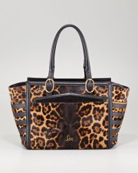 Christian Louboutin Farida Leopard Print Bowler - Lyst