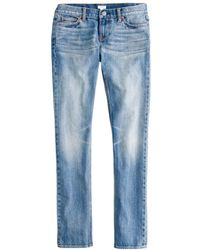 J.Crew Matchstick Jean in Selvedge - Lyst