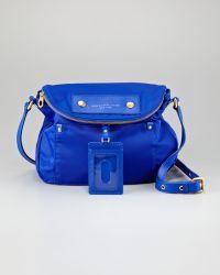 Marc By Marc Jacobs Preppy Nylon Natasha Crossbody Bag  blue - Lyst