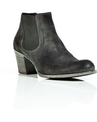 NDC | Black and Grey Emmanuelle Ankle Boots | Lyst