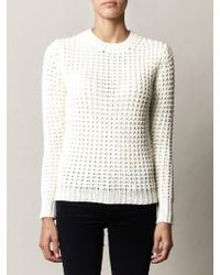 Acne Studios Lina Pineapple Knit Sweater - Lyst