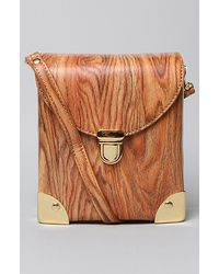 Jeffrey Campbell - The Later Bag in Wood - Lyst