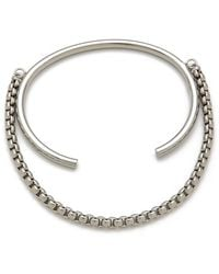 Cheap Monday - Elongate Bracelet - Lyst