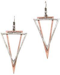 Cheap Monday - Geometry Earrings - Lyst