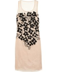 Cynthia Rowley Embroidered Silk Organza Dress - Lyst