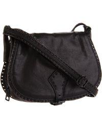 Rebecca Minkoff 'Unlined' Stud Trim Leather Bucket Bag - Lyst