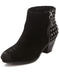 Ash Nevada Studded Booties - Lyst
