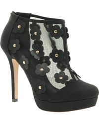 Asos Asos Tapdance Shoe Boots with Flowers - Lyst