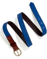 Madewell Suede Belt - Lyst