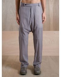 Rick Owens Rick Owens Mens Tailored Swing Pant - Lyst