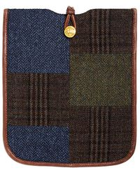 Brooks Brothers - Wool Patchwork Ipad Case - Lyst