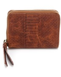 Twelfth Street Cynthia Vincent - Embossed Snake Coin Wallet - Lyst