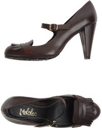 Maloles - Moccasins with Heel - Lyst