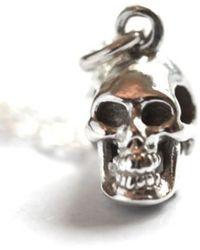 Vivien Frank Designs The Skull Necklace - Lyst