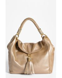 Michael Kors Tonne Large Leather Hobo - Lyst