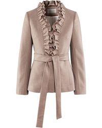 H&M Jacket beige - Lyst