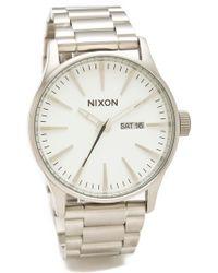 Nixon - The Sentry Ss Watch - Lyst