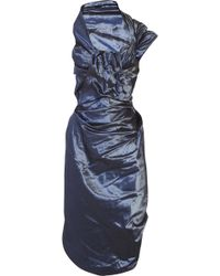Vivienne Westwood Red Label - Corseted Taffeta Dress - Lyst