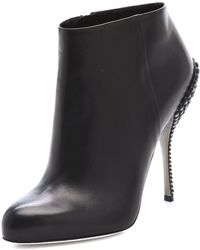 Sergio Rossi Byzance Studded Booties - Lyst