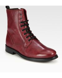 The Generic Man - Military Man Lace-Up Boot - Lyst