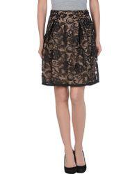 Hoss Intropia Knee Length Skirt - Lyst