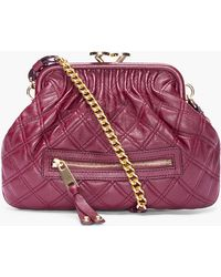 Marc Jacobs Burgundy Little Quilted Stam Bag - Lyst