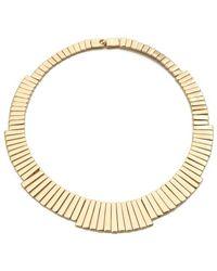 Belle Noel | Gold Bars Necklace | Lyst