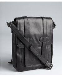 Ben Minkoff - Black Leather Lance Ipad Messenger Bag - Lyst
