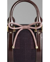 Burberry - The Barrel in Check Jacquard - Lyst