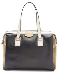 Marc By Marc Jacobs Spot On Colorblocked Large Satchel - Lyst