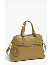 Marc By Marc Jacobs Globetrotter Calamity Rei Dome Satchel beige - Lyst