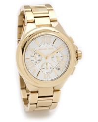 Michael Kors Layton Glitz Chronograph Watch - Lyst