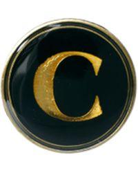 Cath Kidston - C Circular Badge - Lyst