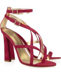 DSquared² Suede Sandals - Lyst