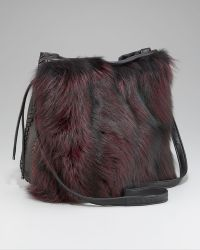 Elie Tahari - Chelsea Fur Drawstring Bag - Lyst