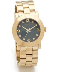 Marc By Marc Jacobs Amy Watch - Metallic