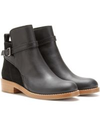 Acne Studios Clover Ankle Boots - Lyst