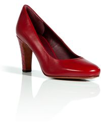 Marc By Marc Jacobs Strawberry Midheel Pumps - Lyst