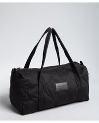 See By Chloé - Black Quilted Cotton Twill Small Duffel Bag - Lyst