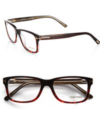 Tom Ford 5163 Square Optical Frames brown - Lyst