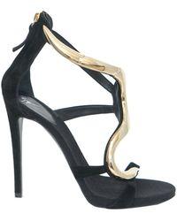 Giuseppe Zanotti Leather Sandal - Lyst