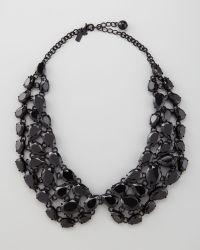 Kate Spade Plaza Athenee Bib Necklace - Lyst