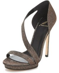 B Brian Atwood Consort Evening Sandals - Lyst