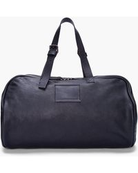 Common Projects - Black Leather Duffle Bag - Lyst